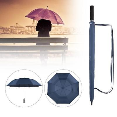 TOMSHOO 61 Inch Oversized Automatic Auto Open Golf Umbrella Outdoor Extra J3G6