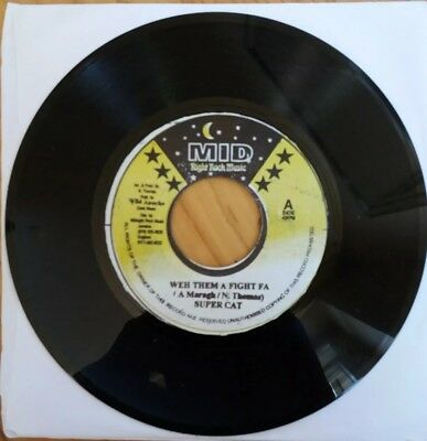 Super Cat - weh them a Fight fa *** going your way riddim  *** MID music 1982