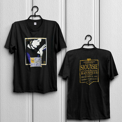 Vintage Siouxsie and the Banshees1991 Tour Tshirt Robert Smith sid Size S to 3XL