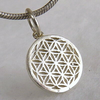 FLOWER OF LIFE SilverSari Pendant (XS) Small Charm Solid 925 Stg Silver PS1039