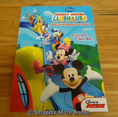 NEW Disney Mickey Mouse Coloring Book ~ 96 pgs ~ We Offer Combined Shipping