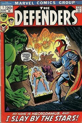 Marvel Comics The Defenders Vol 1 #1 Aug 1972