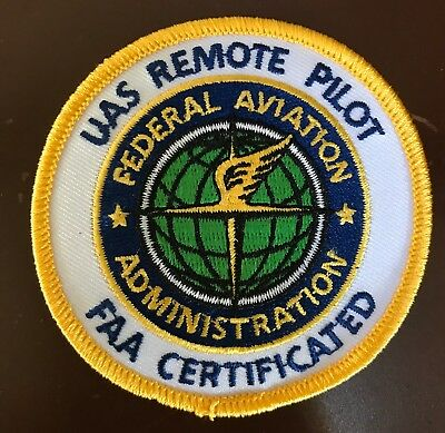 Drone UAS Remote Pilot Patch