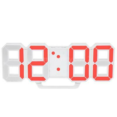 Multifunctional Large LED Digital Wall Clock 12H/24H Time Display With I7I6