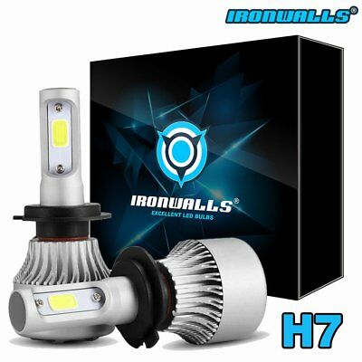 NEW 2x H7 6500K Super White 162000LM CREE LED Headlight High Low Beam Fog Bulb
