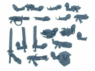 Space Marine Command Squad - Waffen Pack mit Armen  - Big Pack
