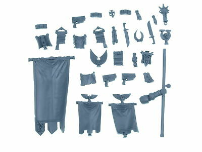 Space Marine Command Squad - Accessoires Pack  - Big Pack