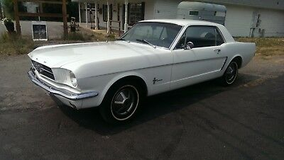 """1964 Ford Mustang  1964 1/2 """"Early Production"""" Ford Mustang Coupe"""