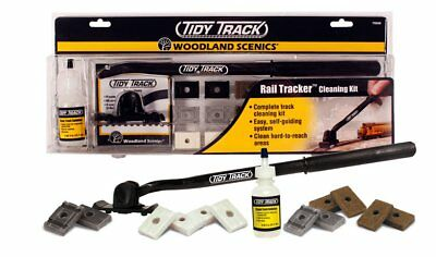 Woodland Scenics TT4571 HO-Scale Dust Monkeys Clean Track Hides Under Cars