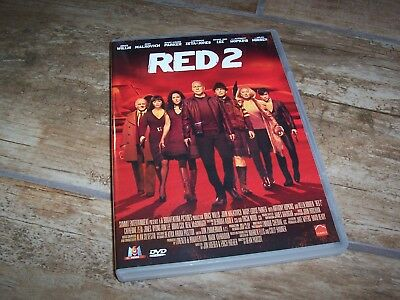 DVD   RED 2 Bruce Willis / John Malkovich / Helen Mirren / C. Zeta-Jones  //