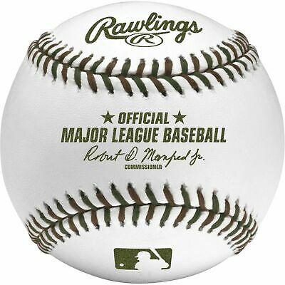 (12) Rawlings Official Memorial Day MLB Major League Game Baseball BOXED DOZEN