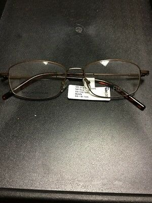 M-Flex Memory Titanium Eyeglass Frames Men's Glasses MF502 Brown RX-Able