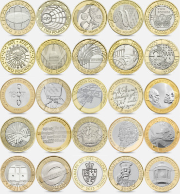 Commemorative Two Pound Coins – Rare British £2 - Choice Of Coin
