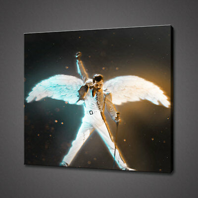 Freddie Mercury Queen Abstract Canvas Picture Print Wall Hanging Art Home Decor