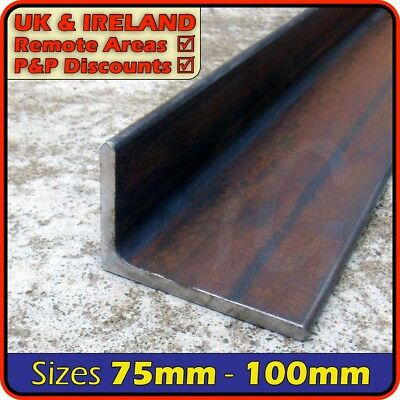 Mild Steel Angle Section [Unequal] ║ 75mm x 50mm ⫽ 100mm x 65mm