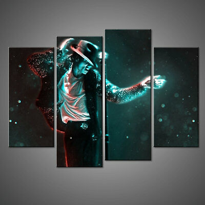 Michael Jackson Canvas Print Picture Wall Art Home Decor Free Delivery