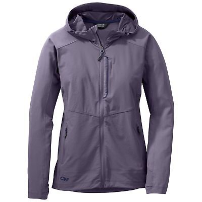 Outdoor Research Women's Ferrosi Hooded Jacket, Fig, M