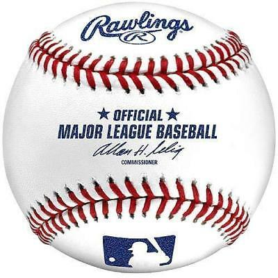 (12) Rawlings Official Major League Game MLB Baseball Selig Boxed - 1/2 Dozen