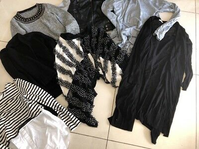 Bulk New & Like New Winter Sweaters Jumpers Cardigans Jackets M