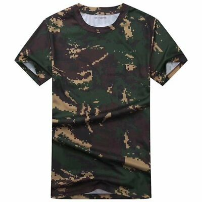 17's series China PLA Army&Air Force&Navy Special Forces Digital Camo T-shirt