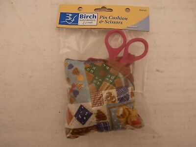 BIRCH Pin Cushion & Scissors