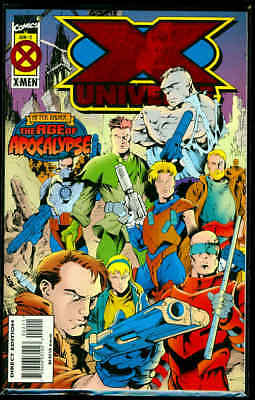 X Universe #2 Age of Apocalypse Marvel Comics June 1995 VF-NM