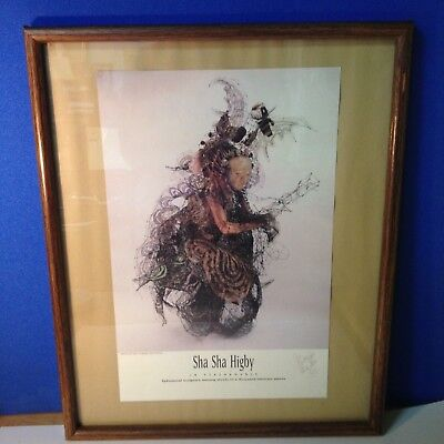 Cool Sha Sha Higby Picture of Ephemeral Sculpture  signed