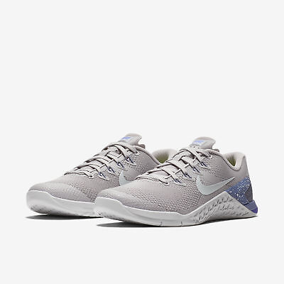 58835910d6c Nike Metcon 4 Atmosphere Grey Purple Slate Indigo Women s Cross Training  ALL NEW