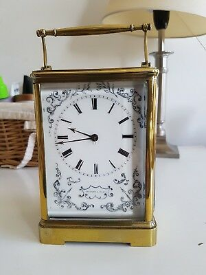 Mid 19th century Bell striking Carriage clock.