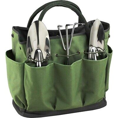Garden Planting Bag Tool Kit Carrier Tote Organizer Set Storage Practical Pouch