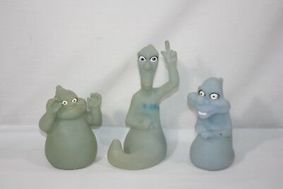 1995 Pizza Hut Casper The Friendly Ghost  Friends Glow in the Dark Hand Puppets