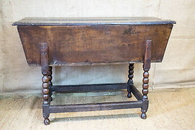 Antique French dough bin, proving bin, 18th century, elm, make great side table!