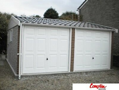 PREFAB GARAGES & BUILDINGS Transverse pitch Apex90 16ft6in(W) x 16ft6in(L)