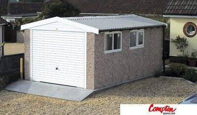 PREFAB GARAGES & BUILDINGS PVC Apex 10ft6in x 18ft3in WYSIWYG