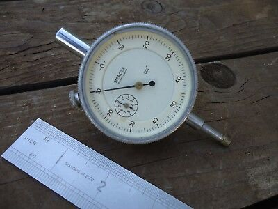"* MERCER * Dial / Clock Gauge ( DTI ) .001"" ~ Made in England"
