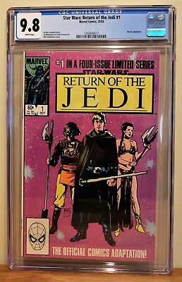 Return Of The Jedi #1 Cgc 9.8 - White Pages **highest Graded Copy**
