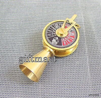 Vintage Style Antique Brass Telegraph Necklace Key Ring Gift