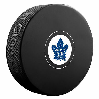 Toronto Maple Leafs Official NHL Logo Souvenir Autograph Hockey Puck New