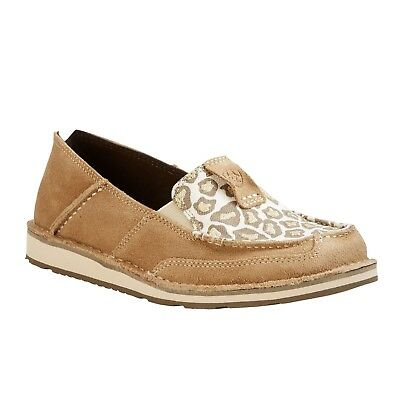 273a0a80ac59 ARIAT® LADIES CRUISER Dirty Taupe/Sparkling Leopard Shoe 10023013 ...