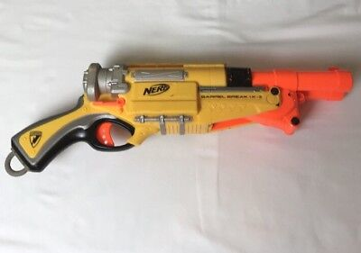 Nerf N-Strike Barrel Break IX-2 Double Barrel Shotgun Dart Gun Blaster