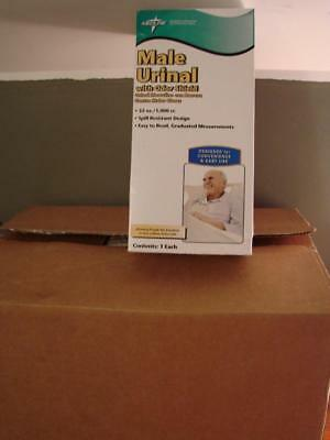 Full Case of 12 Male Urinal With Odor Shield 32oz Spill Resistant NEW Free Ship