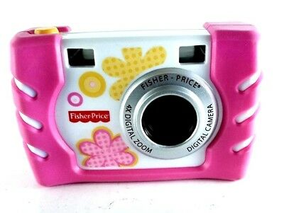 Fischer-Price Kid-Tough Children's Digital Camera 4X Zoom Pink 2010 Version