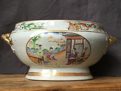 18th Century Chinese Export Porcelain Tureen (No Lid)