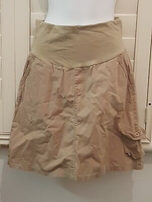 Ninth Moon Maternity Beige Skirt Size 10 #92