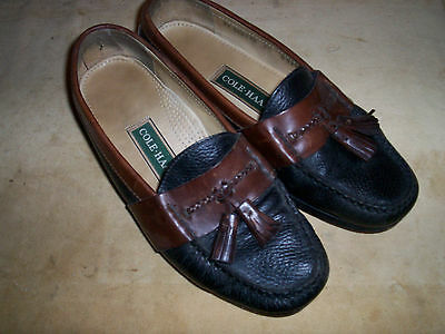 ac38cccdce9 MEN S COLE HAAN Country Kilt Tassel Loafers Shoes Black   Brown ...