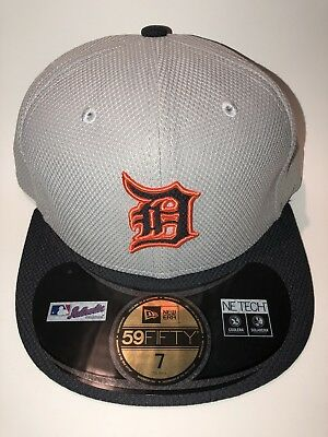 lowest price 58301 81bf6 NEW w Tags Detroit Tigers New Era 59FIFTY MLB Fitted Cap NWT NE TECH