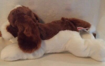 12 Inch Flopsie Basset Hound Dog Plush Stuffed Animal By Aurora