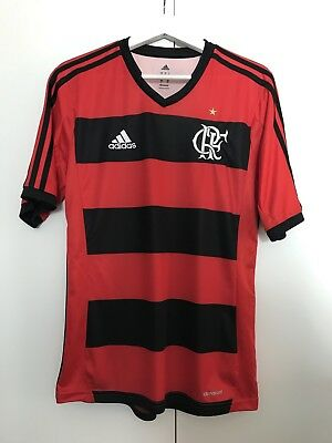 Adidas Flamengo Football Shirt SMALL