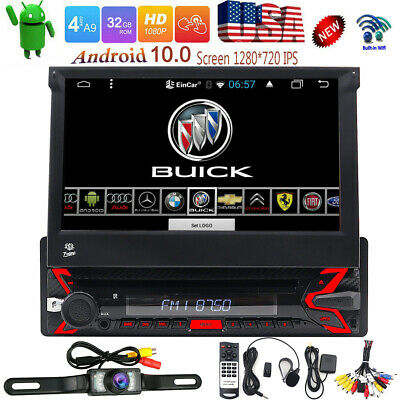 "In-dash Android OS WIFI 7""Double 2DIN Car Radio GPS Stereo CD DVD Player+CAMERA"