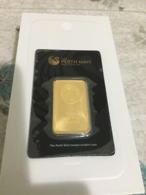 Perth Mint Gold 1oz Bullion Bar (Minted)